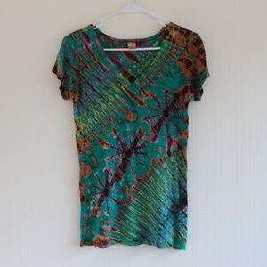 Kathmandu Imports Tie Dye shirt